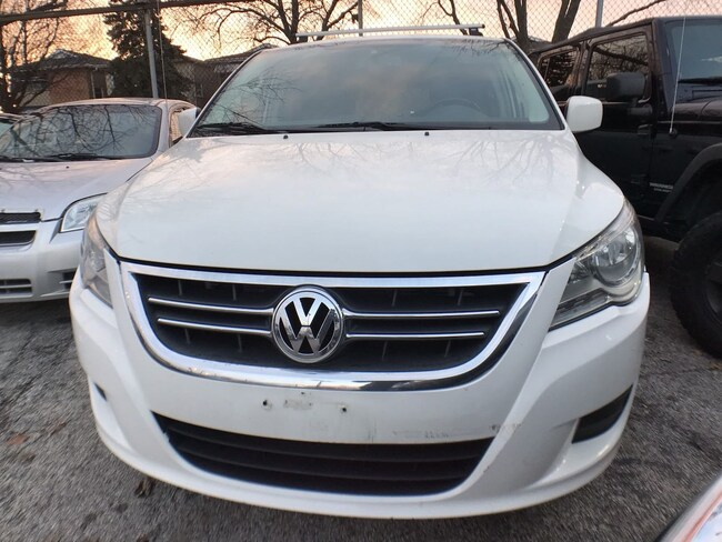used 2009 volkswagen routan sel w/rear-seat entertainment for sale