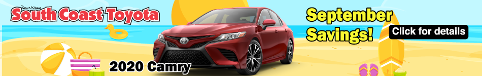 September Savings on Camry
