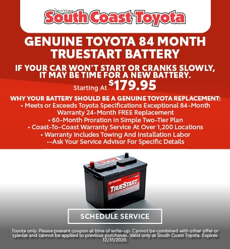Genuine Toyota 84 Month Truestart Battery