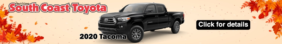 2020 Toyota Tacoma lease specials October