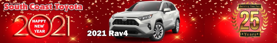 2021 Toyota RAV4 January