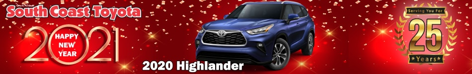2020 Toyota Highlander January