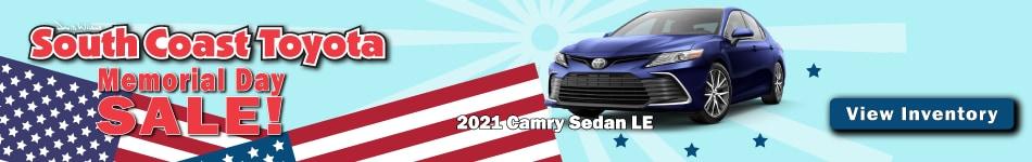 2021 Toyota Camry Sedan LE May