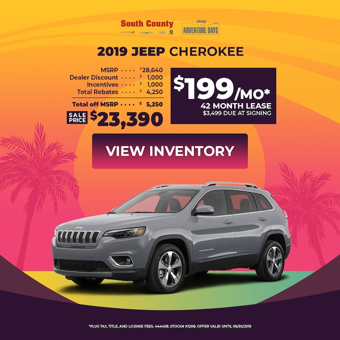 2019 Jeep Cherokee Special