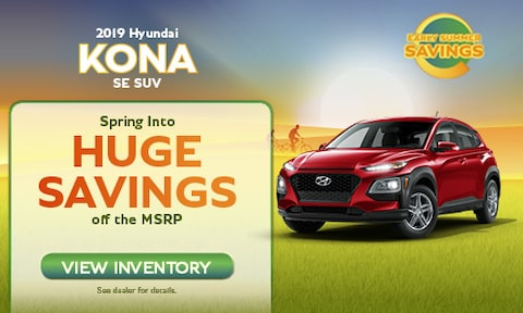 May 2019 Kona Offer