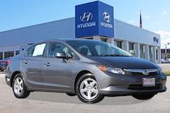 2012 Honda Civic Natural Gas Sedan