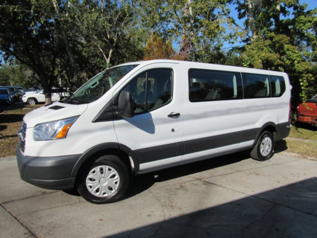 2016 Ford Transit-350 T-350 148 Low Roof XLT Swing-Out RH Dr Wagon Low Roof Wagon