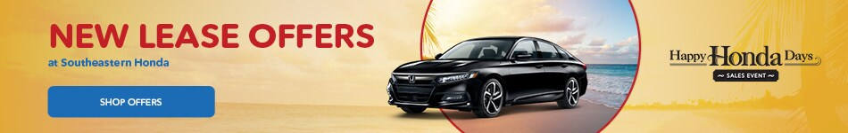 New Lease Offers at Southeastern Honda