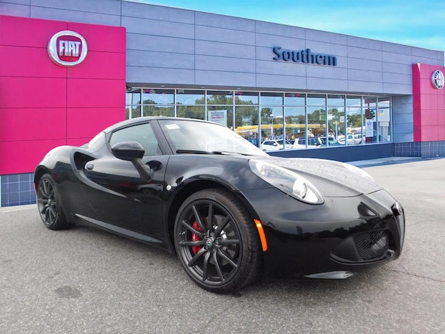 New 2018 Alfa Romeo 4C Coupe Base Coupe