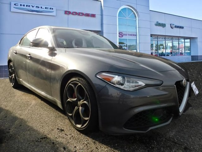 Used 2017 Alfa Romeo Giulia Ti Sedan