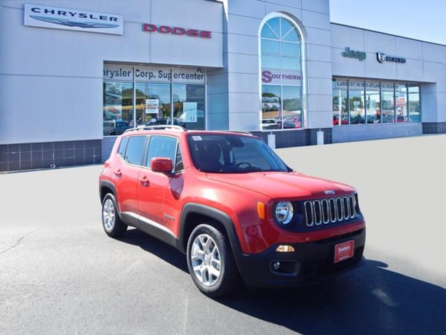 New 2018 Jeep Renegade Latitude FWD SUV in Norfolk