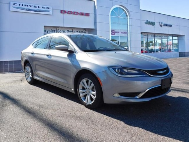 Used 2015 Chrysler 200 Limited Sedan