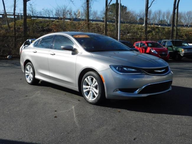 Used 2016 Chrysler 200 Limited Sedan