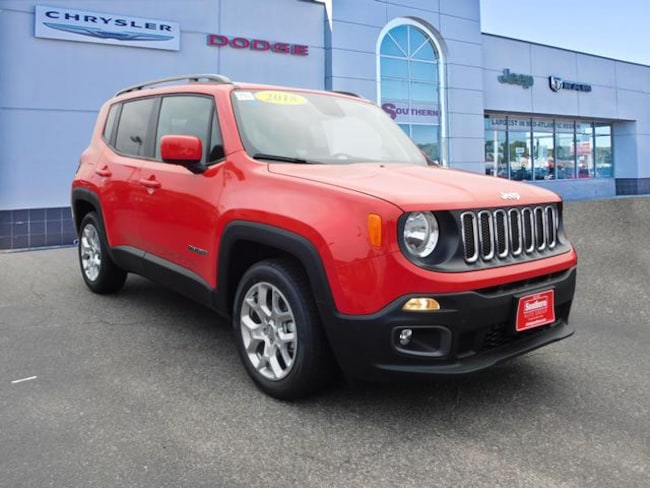 New 2018 Jeep Renegade LATITUDE 4X2 Sport Utility in Norfolk