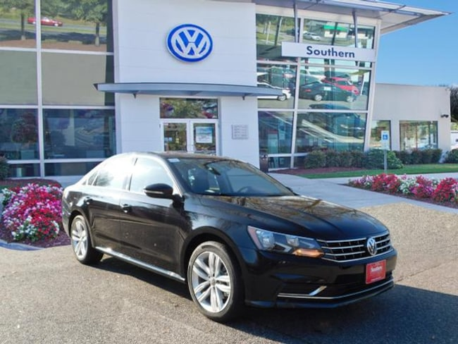 New 2019 Volkswagen Passat 2.0T Wolfsburg Sedan in Chesapeake