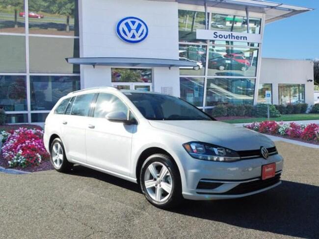 New 2018 Volkswagen Golf SportWagen TSI SE Wagon in Chesapeake