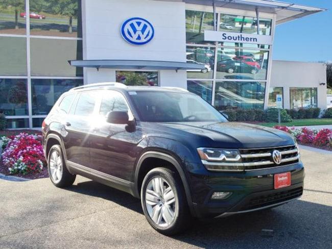 New 2019 Volkswagen Atlas V6 SE 4motion SUV in Chesapeake