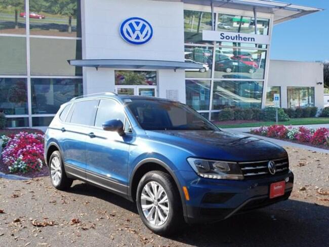 New 2019 Volkswagen Tiguan 2.0T SE 4motion SUV in Chesapeake