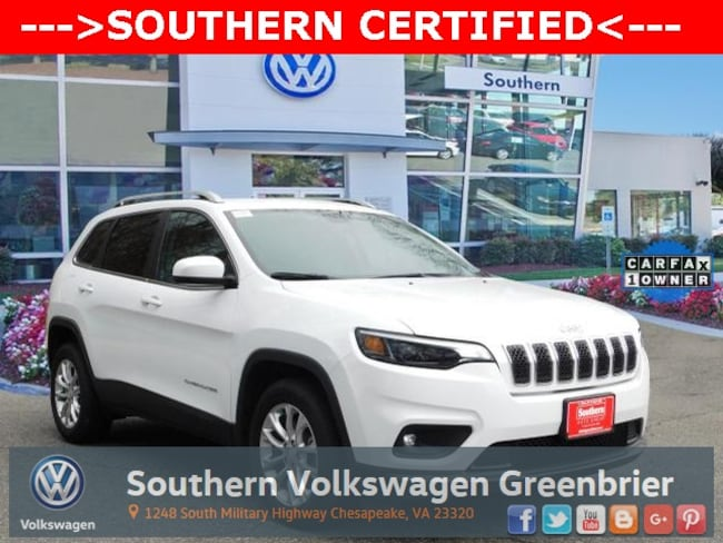 Used 2019 Jeep Cherokee Latitude SUV