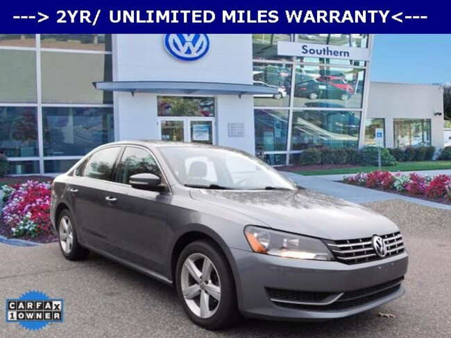 Used 2013 Volkswagen Passat TDI SE Sedan in Chesapeake