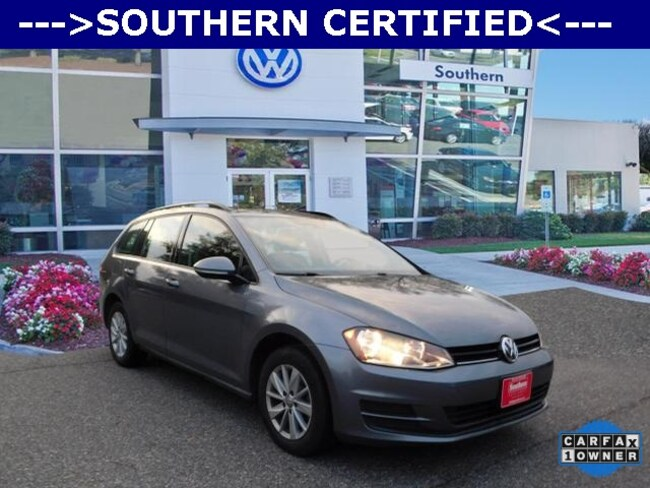 Used 2015 Volkswagen Golf SportWagen SE Wagon in Chesapeake