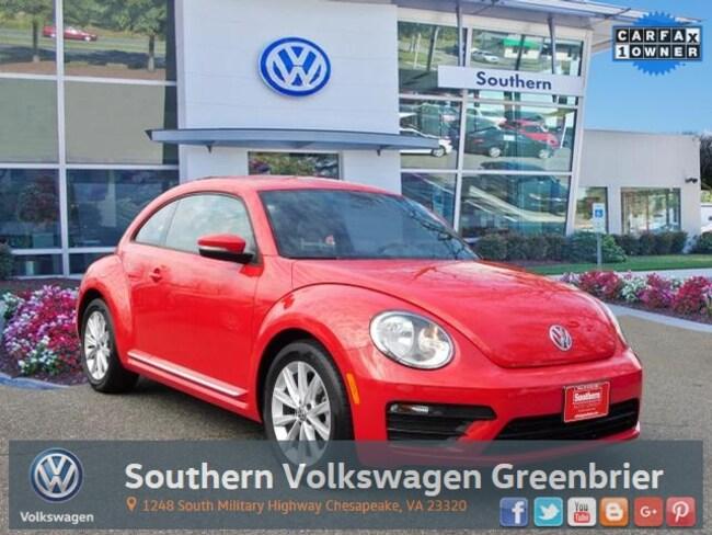 Used 2018 Volkswagen Beetle 2.0T S Hatchback in Chesapeake