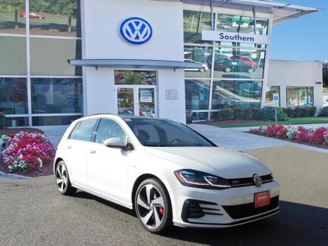 New 2019 Volkswagen Golf GTI Autobahn Hatchback in Chesapeake