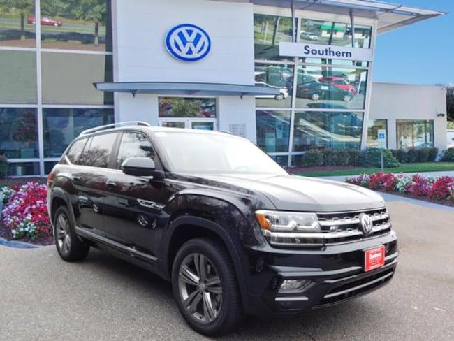 New 2019 Volkswagen Atlas V6 SEL R-Line 4motion SUV in Chesapeake