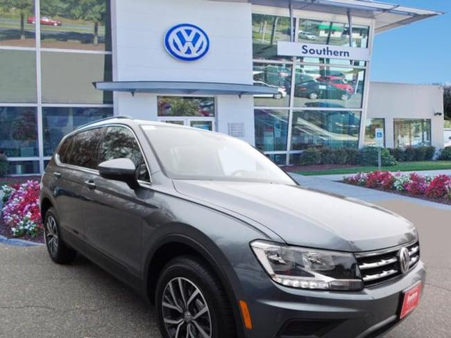 New 2019 Volkswagen Tiguan 2.0T SE SUV in Chesapeake
