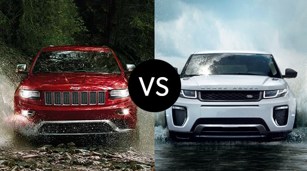 Land Rover Vs Jeep >> Southern Maine Motors Cdjr Comparison 2016 Jeep Grand Cherokee Vs