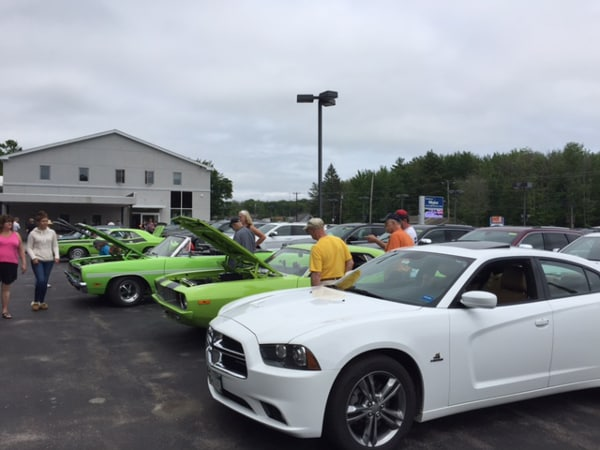 Southern maine motors cdjr 2017 all mopar car show cruise for Southern maine motors service