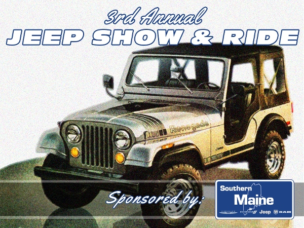 Southern Maine Motors CDJR Rd Annual Jeep Show And Ride Is - Jeep car show near me