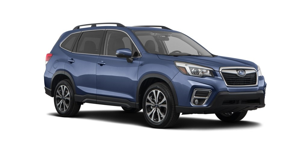 Blue 2019 Subaru Forester