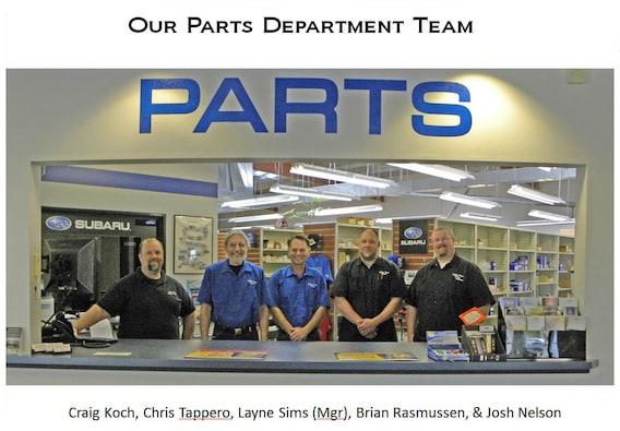 Medford, OR Subaru Parts Center | Genuine Subaru Accessories