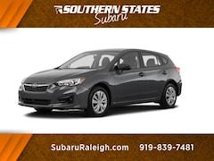 New 2019 Subaru Impreza 2.0i 5-door 4S3GTAA69K3724057 in Raleigh, NC