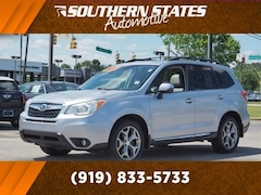 Used 2015 Subaru Forester 2.5i Touring (CVT) SUV JF2SJAWCXFH478211 in Raleigh, NC