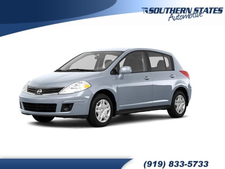 Used 2011 Nissan Versa 1.8S Hatchback 3N1BC1CP2BL392504 in Raleigh