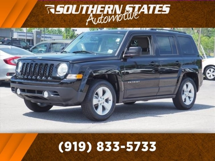 Used 2016 Jeep Patriot Sport SUV 1C4NJPBB3GD700026 in Raleigh