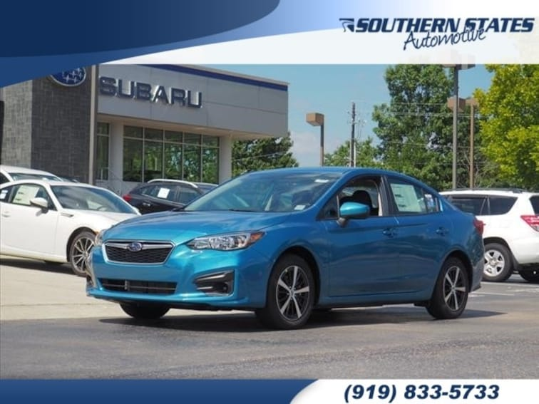 Used 2019 Subaru Impreza 2.0i Premium Sedan 4S3GKAC65K3601033 in Raleigh