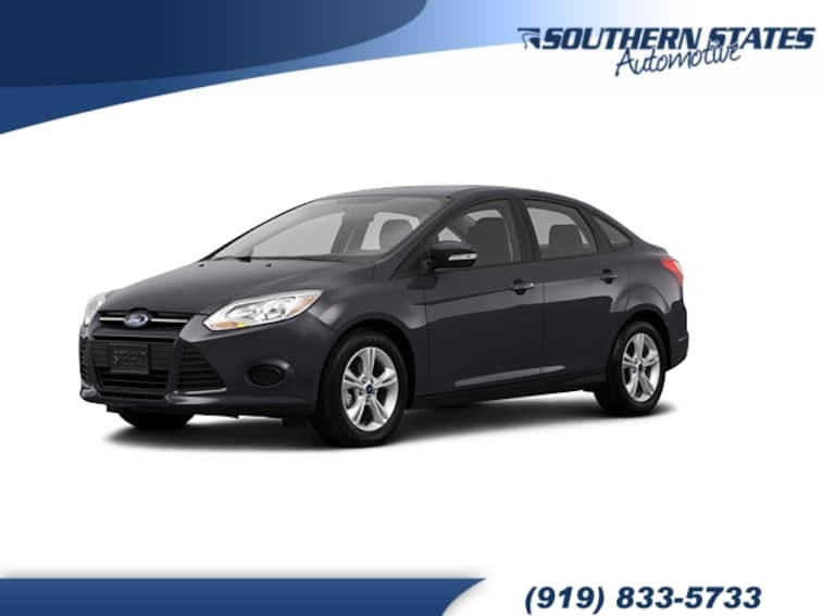 Used 2013 Ford Focus SE Sedan 1FADP3F29DL110966 in Raleigh