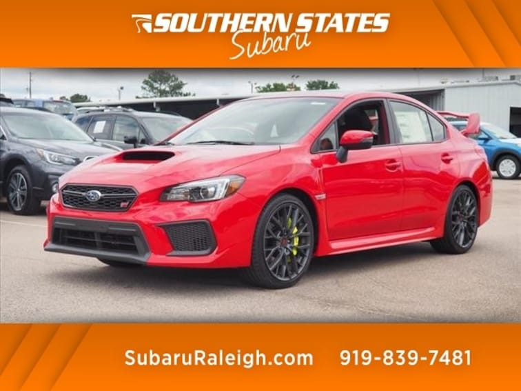 New 2018 Subaru WRX STI Limited w/Wing Sedan For Sale/Lease Raleigh NC