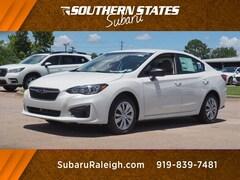 New 2019 Subaru Impreza 2.0i Sedan 4S3GKAA63K1621148 in Raleigh, NC
