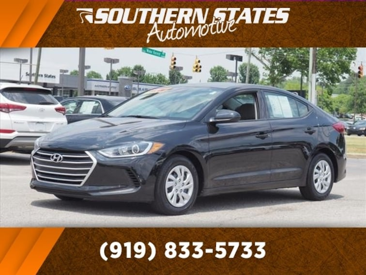 Used 2018 Hyundai Elantra SE Sedan 5NPD74LF9JH313637 in Raleigh