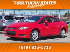 Used 2012 Honda Civic EX-L Coupe 2HGFG3B02CH542514 in Raleigh, NC