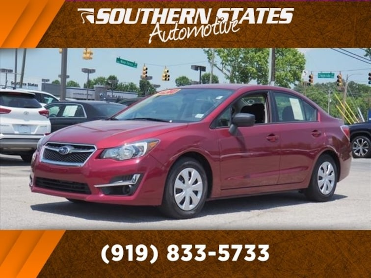 Used 2015 Subaru Impreza 2.0i 4dr (CVT) Sedan JF1GJAA68FH024647 in Raleigh