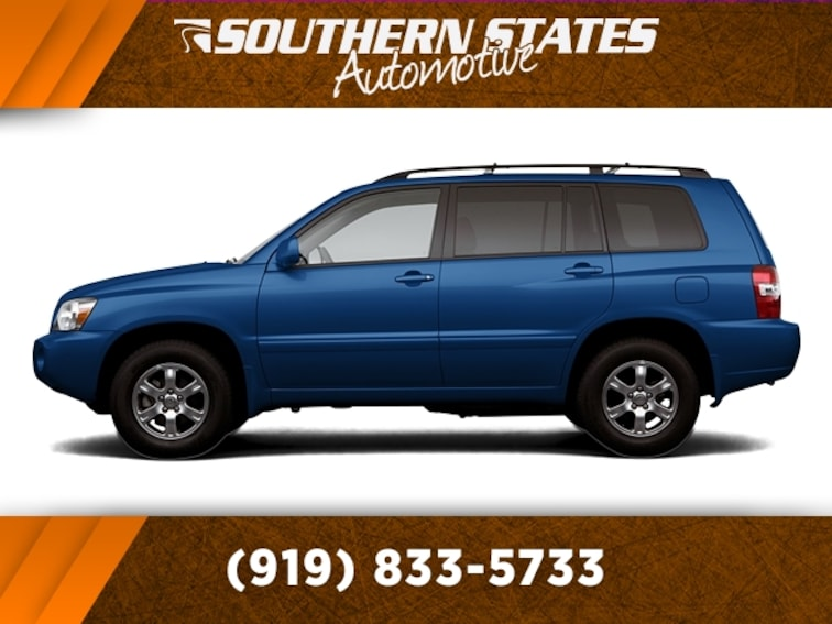 Used 2006 Toyota Highlander V6 w/o 3rd Row SUV JTEGP21A360112650 in Raleigh