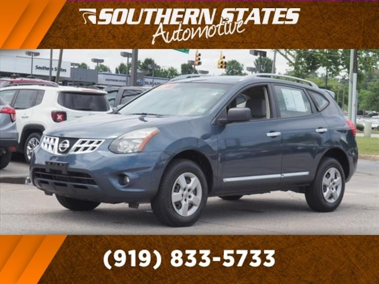 Used 2014 Nissan Rogue Select S SUV JN8AS5MT5EW101091 in Raleigh
