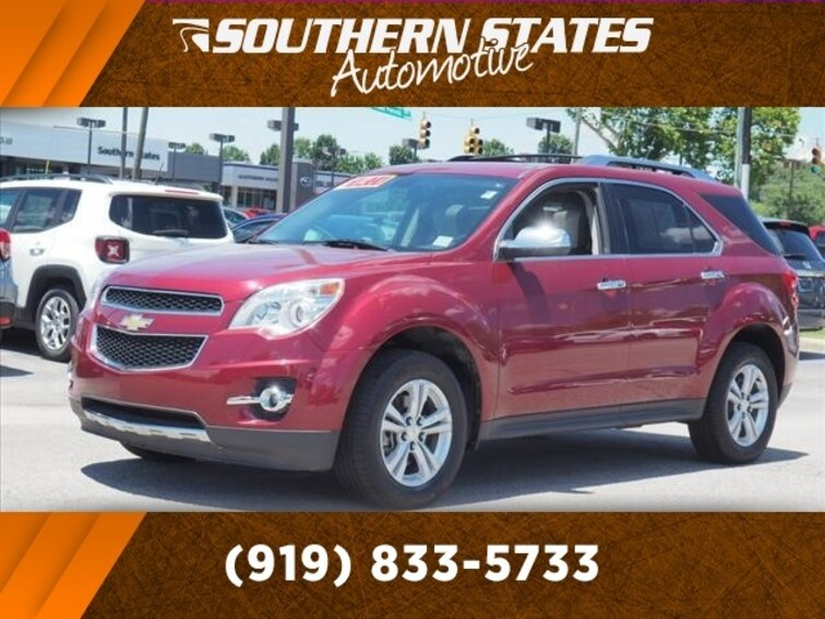 Used 2010 Chevrolet Equinox LTZ SUV 2CNALFEWXA6338957 in Raleigh