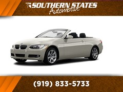 Bargain Used 2008 BMW 335i Convertible WBAWL735X8PX54878 in Raleigh, NC