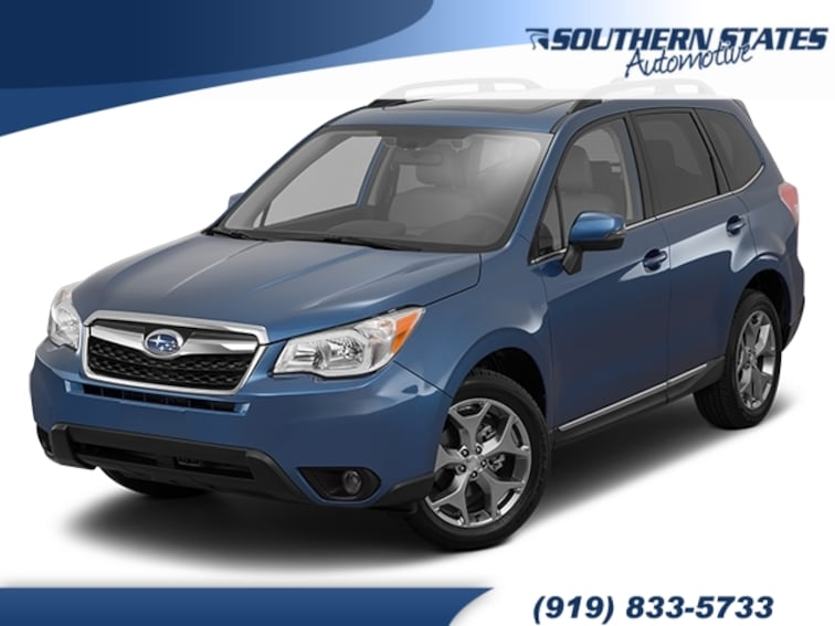 Used 2016 Subaru Forester 2.5i Touring SUV JF2SJAXC9GH422485 in Raleigh